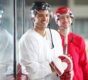 Protecteurs buccaux pour les sportifs et joueurs de hockey